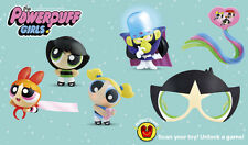 2016 McDONALD'S POWERPUFF GIRLS TOYS! - **SHIPPING NOW!!** CHOOSE YOUR TOY!