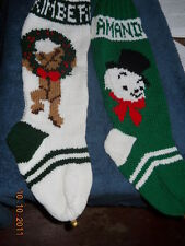 Christmas Stocking HAND KNIT