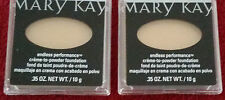 LOT of 2 Mary Kay Creme to Powder Foundation. ENDLESS PERFOMANCE. Shade Options