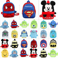 Children Kids Soft Plush Travel Snacks School Bag Cartoon Cute Rucksack Backpack