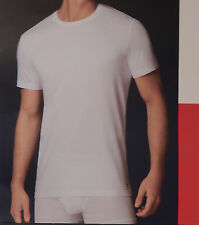 1 TOMMY HILFIGER MENS S M L XL XXL COTTON WHITE CREW NECK T SHIRT UNDERSHIRT