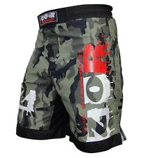 Camouflage MMA Fight Shorts Cage Fight Grappling UFC Martial Art Boxing Shorts