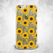 Sunflower Floral Soft Soft Silicone TPU Rubber Case Cover Skin Back iPhone Plus