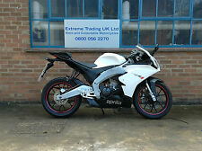 Aprilia RS4 125 RS125 in White 2012 with low mileage