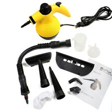 Handheld Steam Cleaner Multi Purpose Electric Portable Steamer Home Auto Carpet
