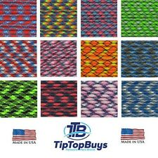 550 Paracord Commercial Mil Spec 7 Strand Parachute  Cord 10 20 25 50 100 ft