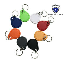 RFID key fobs 13.56MHz ABS IC MIFARE Classic 1k tags chain access control-10pcs