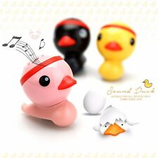COBY 3.5mm Audio Jack Mini Portable Speaker Sound Duck For Smart Phone Tablet PC