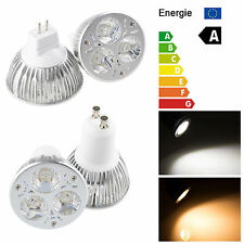 9w warm cool white GU10/MR16 (GU5.3) LED light Downlight Spot Bulbs
