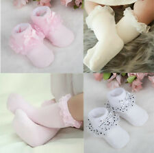 Bowknot Princess Baby Girls Hot Cozy Ankle Socks Lace Socks Toddler Cotton Dots