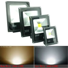 12V 240V Slim 10W 20W 30W 50W LED Floodlight IP65 Outdoor Garden Flood Light AU