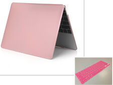 "Metal Rubberized Hard Case+Free Keyboard Cover for Macbook Pro Air 11""12""13""15"""