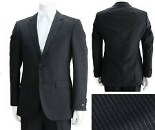 NWT Hugo Boss Black Label Super 100 Wool Slim Fit Stripe Luxurious Suit