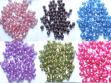 50pcs/Lot, Free shipping high-quality 12 mm color resin beads jewelry girl