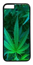 New Marijuana Weed Plant Apple iPhone Models Snap On Case Rubber or Hard Cover