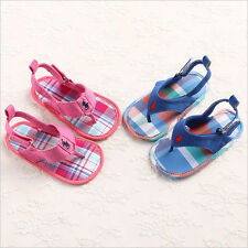 HOT Sell Bebe Infant Toddler Girl Boy Summer Sandals Soft Sole Baby Shoes 3 Size