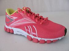 New REEBOK Womens Pink RealFlex Select Running Shoes Athletic Sneakers $110