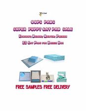 Oops Pads SUPER PUPPY & Cat Pad Sale FREE SAMPLES FREE DELIVERY!