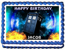 DOCTOR WHO / Dr Who Image Edible Cake topper decoration