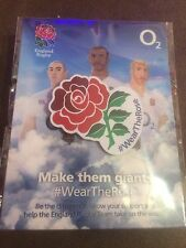 Wear The Rose Pin Badge England Rugby Union World Cup 2015 Still Sealed