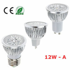 new 9W 12W MR16 E27 GU10 Dimmable Cool Warm White LED light Bulb Lamp SpotLight