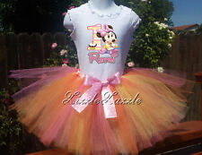 Baby Minnie Mouse 1st Birthday Custom Personalized tutu skirt Birthday outfit