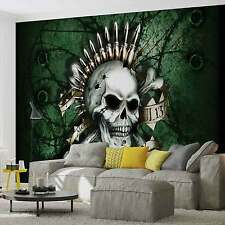WALL MURAL Graffiti Skull XXL PHOTO WALLPAPER (2690DC)
