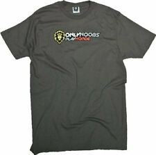 WORLD OF WARCRAFT - ONLY NOOBS PLAY HORDE - OFFICIAL MENS T SHIRT
