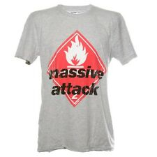 MASSIVE ATTACK - LOGO - OFFICIAL AMPLIFIED MENS T SHIRT