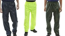 Waterproof Trousers / Over trousers - Navy, Olive Green, Yellow