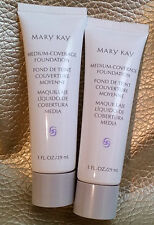 LOT of 2 MARY KAY Medium Coverage Foundation 1 FL. OZ./29 ml. Full &Choose Shade