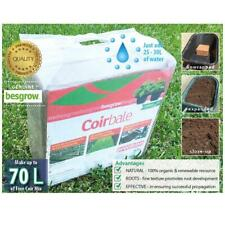 4.5kg Coir Fine PRECISION Besgrow® block | Makes 70L of coco peat | Propagation.