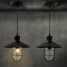 new industrial metal cage vintage chandelier garage wall Lamp warehouse lights