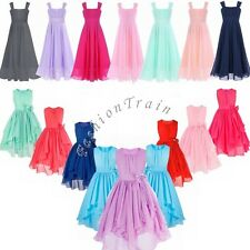 Flower Girl Kid Wedding Bridesmaid Formal Party Pageant Prom Princess Tutu Dress