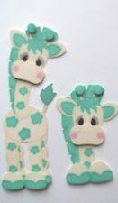 3D - U Pick - Giraffe Topper Baby  Scrapbook Card Embellishment 78