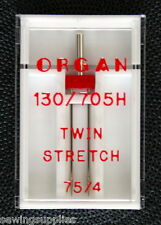 Organ Sewing Machine Twin Needles STRETCH 75 / 4 WORKS ON Brother, Singer.+