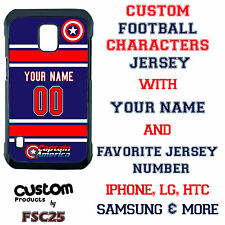 Custom CAPTAIN AMERICA Jersey Phone Case Cover for Samsung s6 edge s5 s4 Note 5