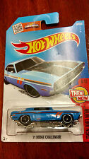 Hotwheels 1:64 scale '71 Dodge Challenger Then And Now