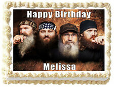 DUCK DYNASTY Edible image Cake topper decoration