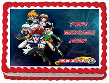 BEYBLADE Party Image Edible Cake topper decoration