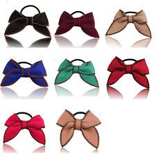 Satin Ribbon Holder Scrunchie Hair Rope Hairband Ponytail Bow Hair Accessories
