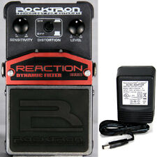Rocktron Reaction Dynamic Filter Pedal w/ 9v power supply free shipping!
