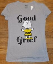 Good Grief Charlie Brown Juniors Top Officially Licensed Peanuts T-Shirt Tee