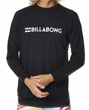 Billabong Amphibious LS Rash Swim Shirt / Rashie. Size L, XL. NWT, RRP $59.99.