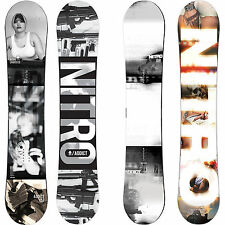 Nitro Addict Rooftop Camber Men's Freestyle Snowboards 2015