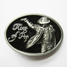Men Belt Buckle King of Pop Belt Buckle Gurtelschnalle Boucle de ceinture