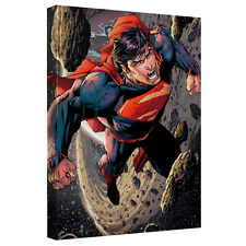 SUPERMAN SPACE FLIGHT CANVAS WALL ART
