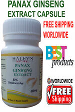 500mg Veggie Capsules Panax Ginseng Capsule Extract For Energy & Stamina Support