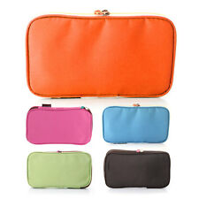 Foldable Pen Pencil Case Cosmetic Make up Bag Storage Pouch Wallet