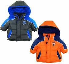 iXtreme Baby Boys Newborn Rip Stop Hooded Winter Puffer Jacket